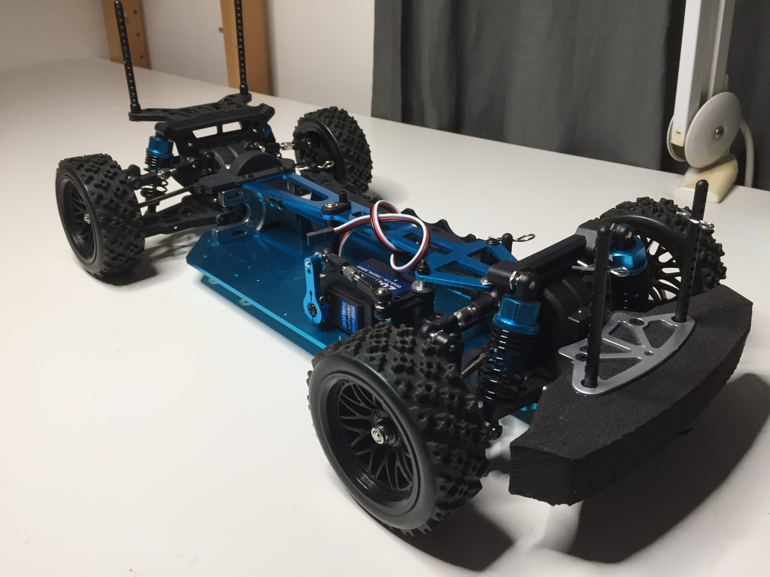 HSP 94123 Chassis build instruction