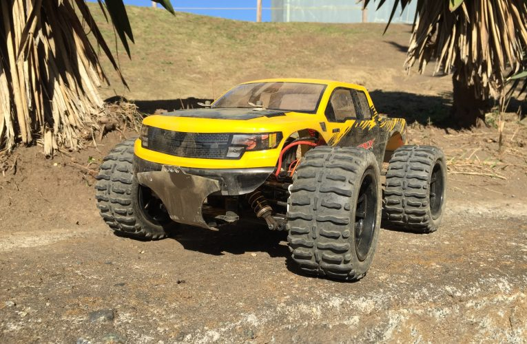 Tamiya TT-02 On-road to Monster truck Conversion